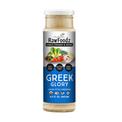 RawFoodz Glorious Greek Dressing - 242ml