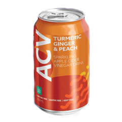 Route 18 Turmeric Ginger & Peach Sparkling Apple Cider Drink Can - 355ml
