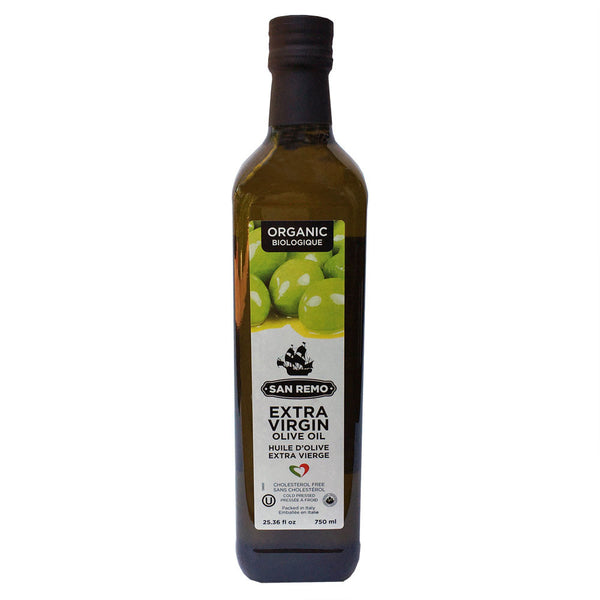 San Remo Organic Extra Virgin Olive Oil - 750ml