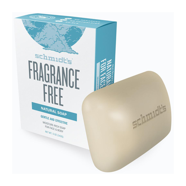 Schmidt's Fragrance Free Bar Soap - 142g