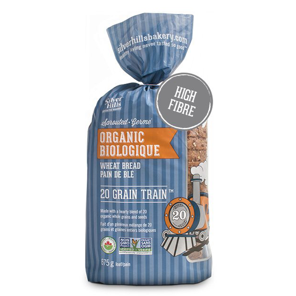 Silver Hills 20 Grain Train Bread - 675g