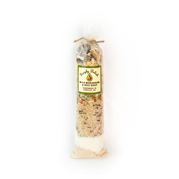 Simply Delish Wild Mushroom & Rice Soup Mix - 220g