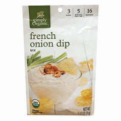 Simply Organic French Onion Dip Mix - 31g