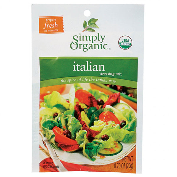Simply Organic Italian Dressing Mix - 20g