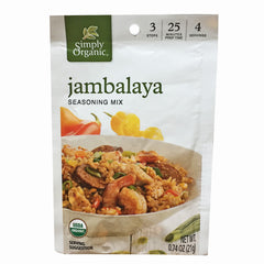 Simply Organic Jambalaya Seasoning Mix - 21g