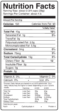 Skinny Pop Original Popcorn - 125g