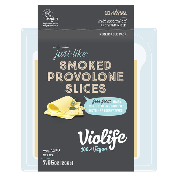 Violife Smoked Provolone Slices - 200g
