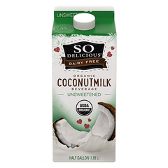 So Delicious Unsweetened Coconut Milk Beverage - 1.89L