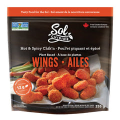 Sol Cuisine Hot & Spicy Chik'n Wings - 255g