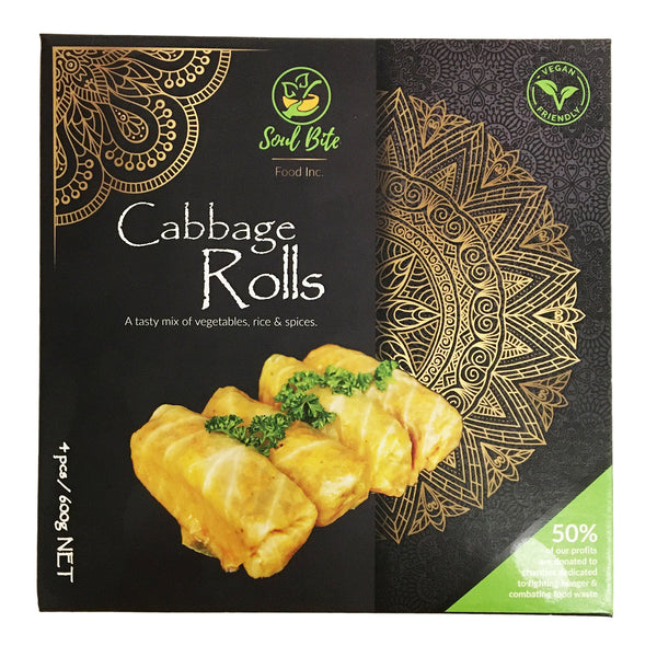 Soul Bite Food Cabbage Rolls - 600g