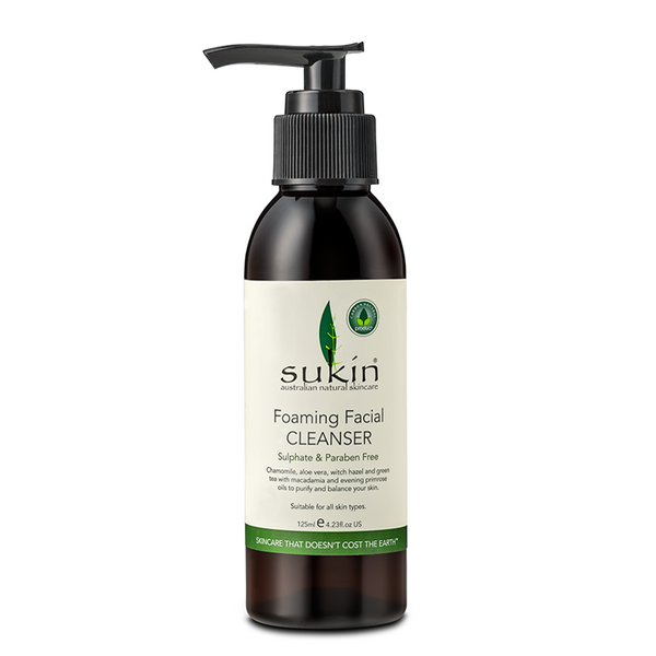 Sukin Foaming Facial Cleanser - 125ml