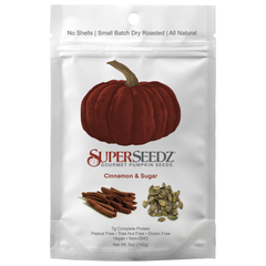 Superseedz Cinnamon & Sugar Gourmet Pumpkin Seeds - 142g