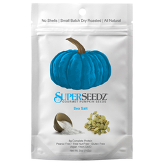 Superseedz Sea Salt Gourmet Pumpkin Seeds - 142g