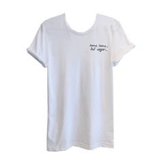 Talk Vegan To Me 'Same Same' White Unisex Tee