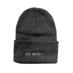 Talk Vegan To Me 'No Whey' Grey Toque