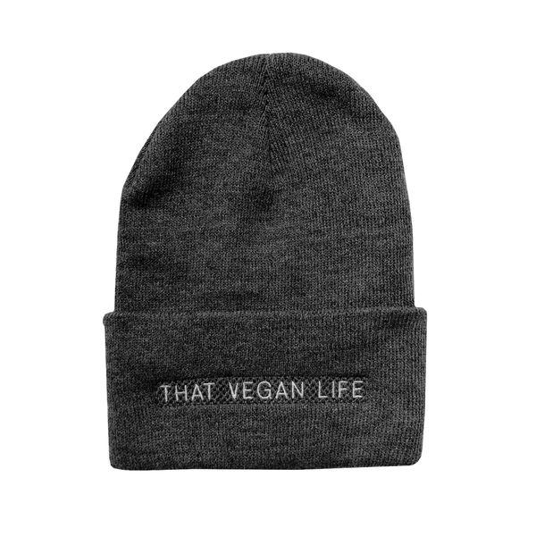 Talk Vegan To Me 'That Vegan Life' Grey Toque