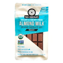 Taza Classic Almond Milk Chocolate - 70g