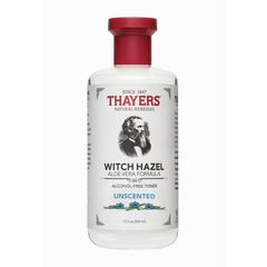 Thayers Unscented Alcohol-Free Witch Hazel Toner with Aloe - 355ml