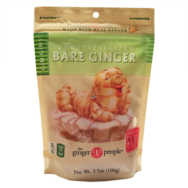The Ginger People Gin Gins Uncrystallized Bare Ginger - 100g