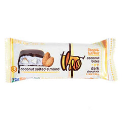 Theo Dark Chocolate Coconut Salted Almond Bites - 38g