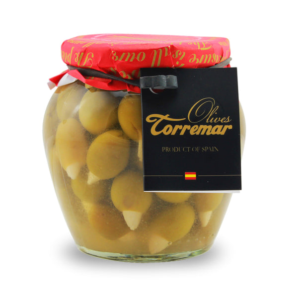 Torremar Olives Almond Stuffed Olives - 580ml