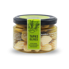 Torremar Olives Garlic and Rosemary Tapas Olives - 280ml
