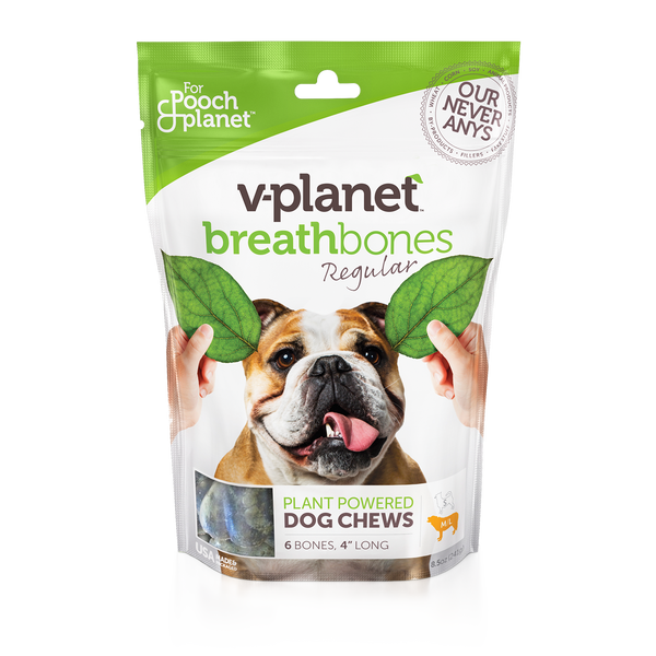 V-Planet Breathbones Dog Chews
