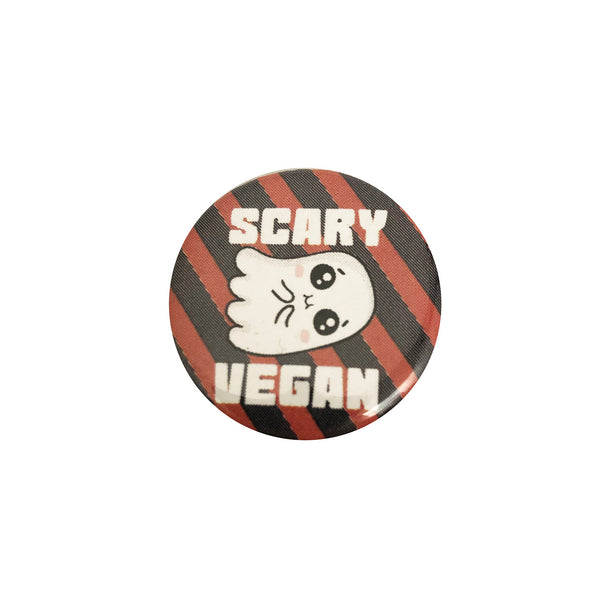 Vegan Supply 'Scary Vegan' Ghost Button