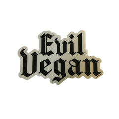 Vegan Power Co 'Evil Vegan' Sticker