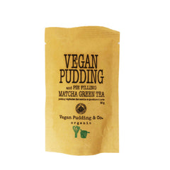 Vegan Pudding & Co. Matcha Pudding & Pie Filling - 50g