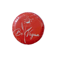 Vegan Supply 'Be Vegan (Red)' Magnet