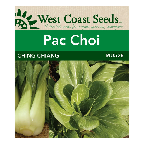 West Coast Seeds Ching Chiang Shanghai Pac Choi Seeds - 1g