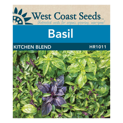 West Coast Seeds Kitchen Basil Blend Seeds - 1g
