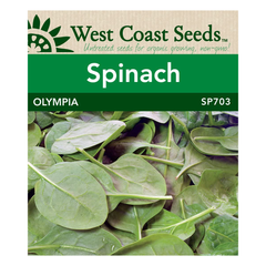 West Coast Seeds Olympia Spinach Seeds - 5g