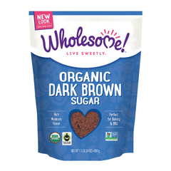 Wholesome Organic Dark Brown Sugar - 680g