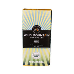 Wild Mountain Peru 100% Dark Chocolate - 85g