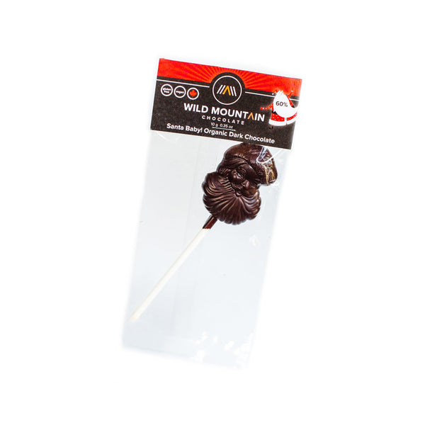 Wild Mountain Chocolate Santa Baby! Lollipop - 10g