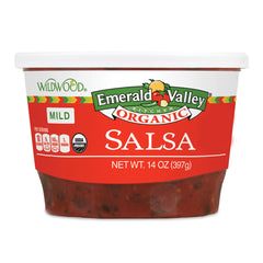 Wildwood Emerald Valley Organic Mild Salsa - 397ml