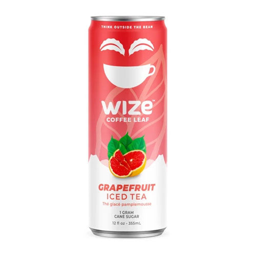 Wize Grapefruit Coffee Leaf Iced Tea - 355ml