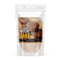 Workshop Vegetarian Cafe Chocolate Mochi Cake Mix - 500g