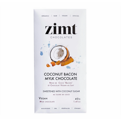 Zimt Coconut Bacon Mylk Chocolate Bar - 40g