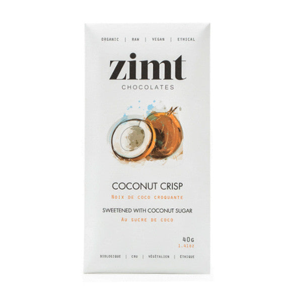 Zimt Chocolate Coconut Crisp - 40g