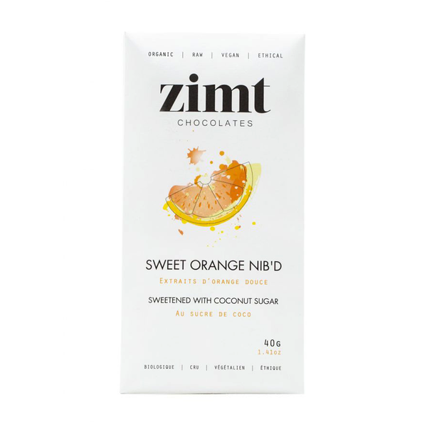 Zimt Chocolate Sweet Orange Nib'd - 40g