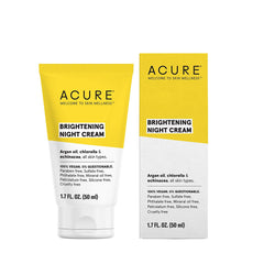 Acure Brightening Night Cream - 50ml