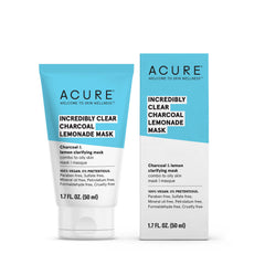 Acure Incredibly Clear Charcoal Lemonade Mask - 50ml