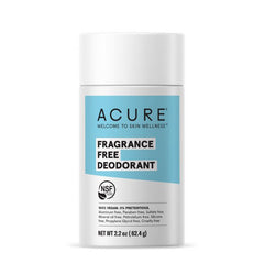 Acure Fragrance Free Deodorant - 62g