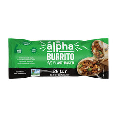 Alpha Foods Philly Burrito - 142g