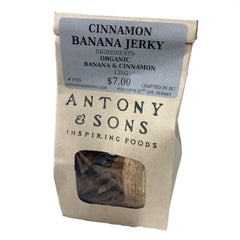Antony & Sons Cinnamon Banana Jerky - Multiple Sizes