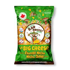 Bad Monkey Le Big Cheese Nacho Cheese Popcorn - 300g