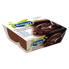 Belsoy Dark Chocolate Pudding - 4x 125g
